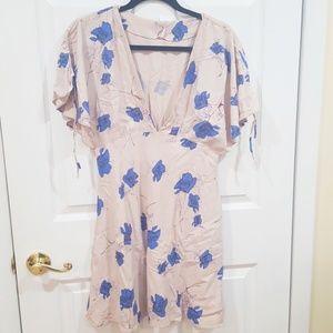 Free People | Melanie printed mini dress